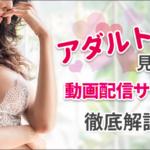 アダルト見放題の動画配信サービス徹底解説!!【口コミ有】